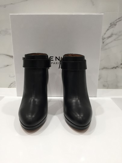 Givenchy Leather Shark Lock Made In Italy Ankle Strap black Boots Image 5