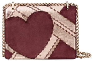Kate Spade Quilted Gold Chain Valentine Cross Body Bag