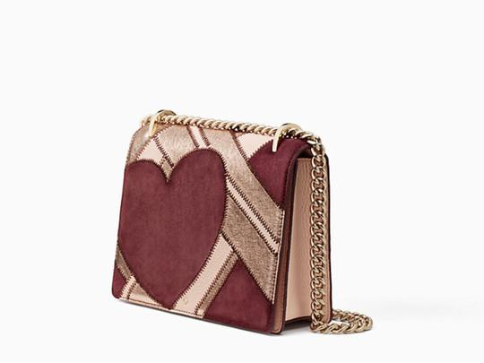 Kate Spade Quilted Gold Chain Valentine Cross Body Bag Image 1