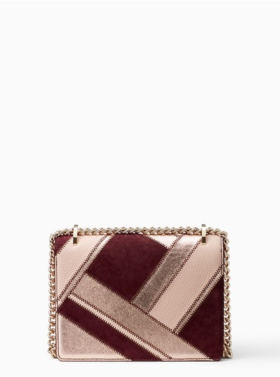 Kate Spade Quilted Gold Chain Valentine Cross Body Bag Image 3