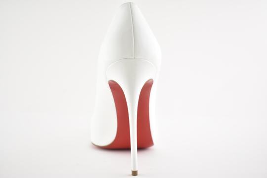Christian Louboutin Pigalle Stiletto Follies Classic Patent white Pumps Image 10
