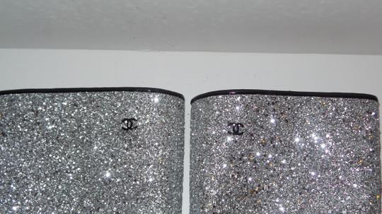 Chanel SILVER Boots Image 5