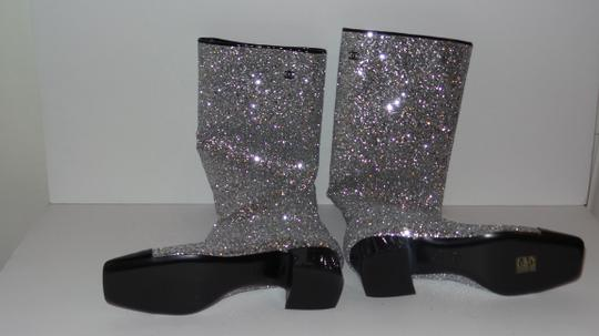 Chanel SILVER Boots Image 8