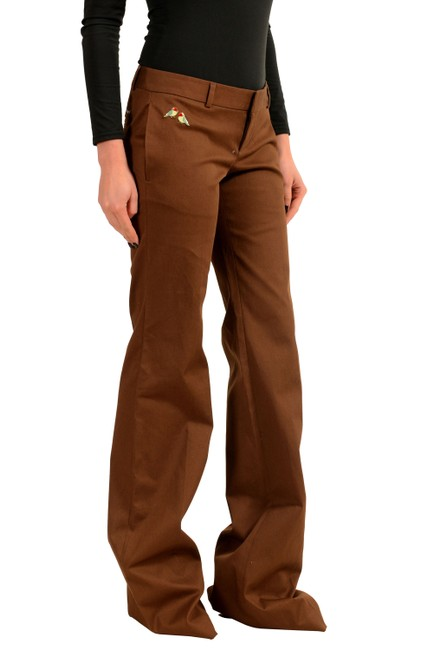 Dsquared2 Flare Pants Brown Image 0
