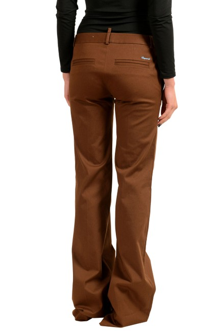 Dsquared2 Flare Pants Brown Image 1