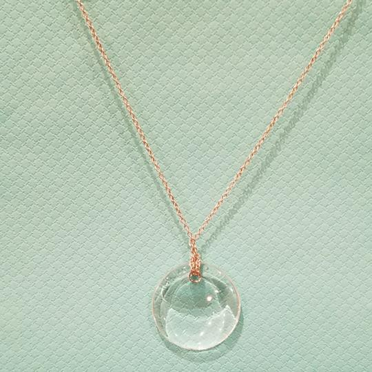 d17a0c4ae ... Tiffany & Co. Retired crystal rock Peretti disc necklace Image 1