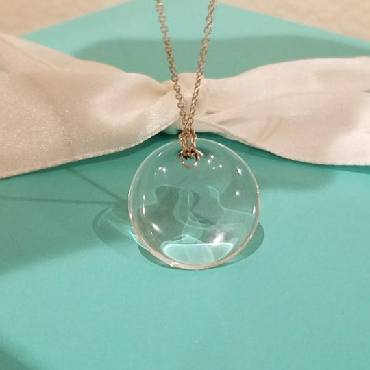 Tiffany & Co. Retired crystal rock Peretti disc necklace Image 2