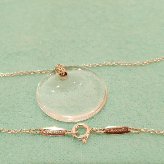Tiffany & Co. Retired crystal rock Peretti disc necklace Image 6
