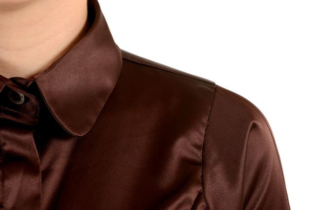 Just Cavalli Button Down Shirt Brown Image 2