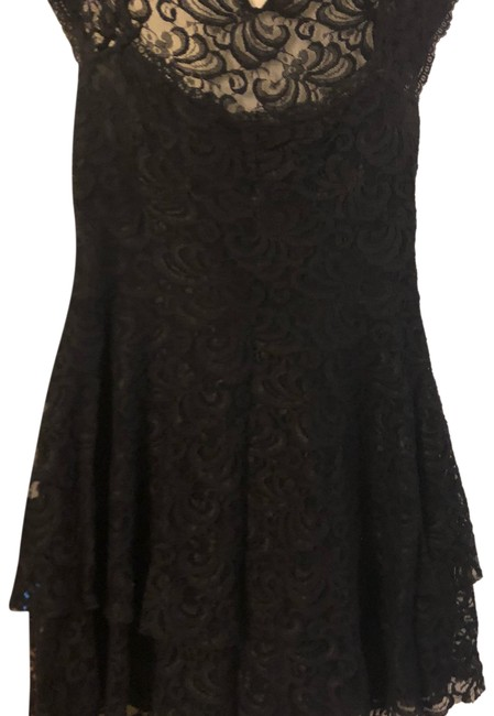 Preload https://img-static.tradesy.com/item/23813546/free-people-black-rock-and-lace-short-casual-dress-size-4-s-0-1-650-650.jpg