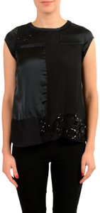 CoSTUME NATIONAL Top Black