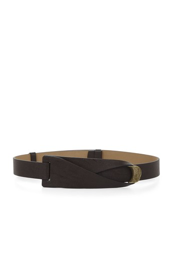 Preload https://img-static.tradesy.com/item/23813604/bcbgmaxazria-brown-bcbg-faux-leather-waist-belt-0-2-540-540.jpg