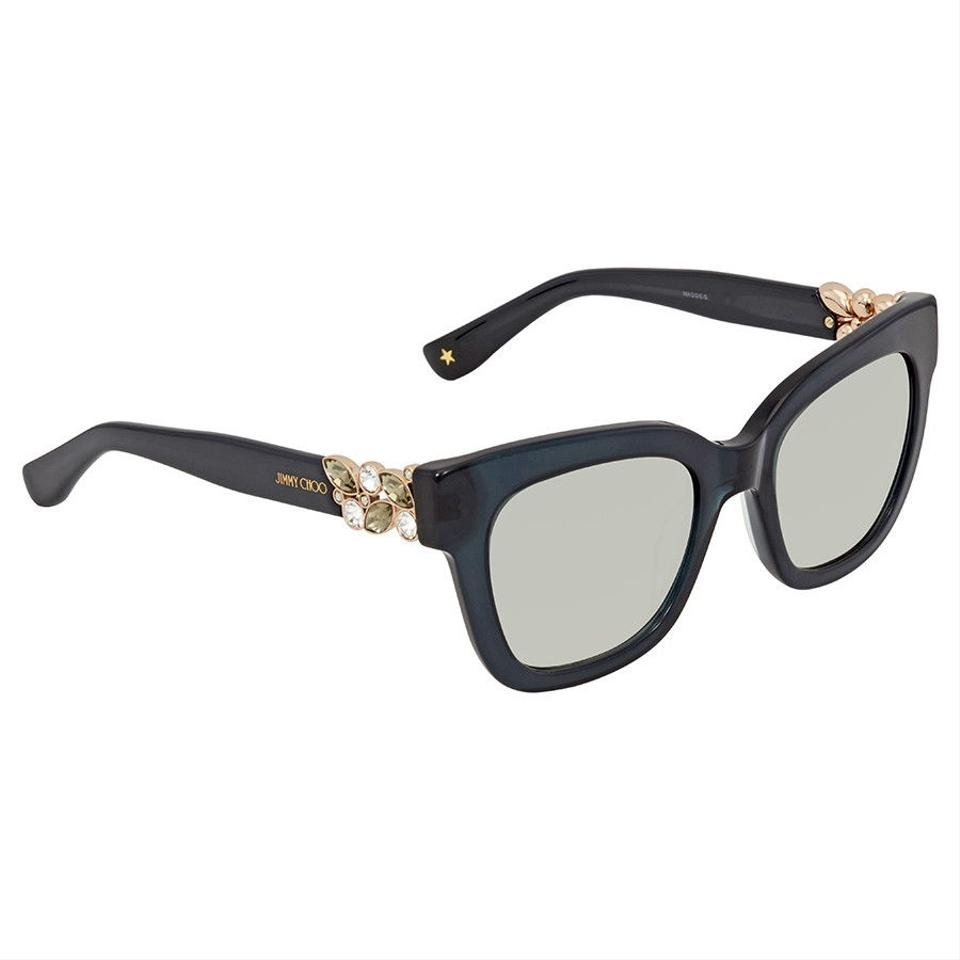 b4521c4c8bc Jimmy Choo Jimmy Choo Dark Grey Square Sunglasses MAGGIE S 51IC 51 ...