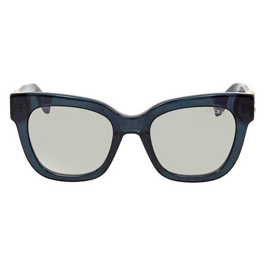 177fcacac98 ... Jimmy Choo Jimmy Choo Dark Grey Square Sunglasses MAGGIE S 51IC 51