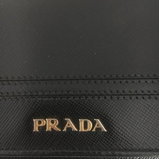 Prada Saffiano leather wallet with bow Image 1