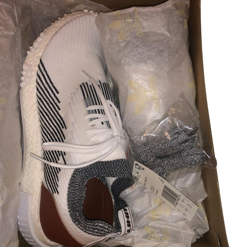 568155f84 adidas White Black Nmd Racer Men s Sneakers Size US 10.5 Regular (M ...