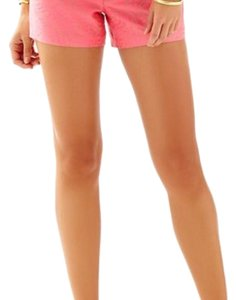 Lilly Pulitzer Dress Shorts flamingo pin