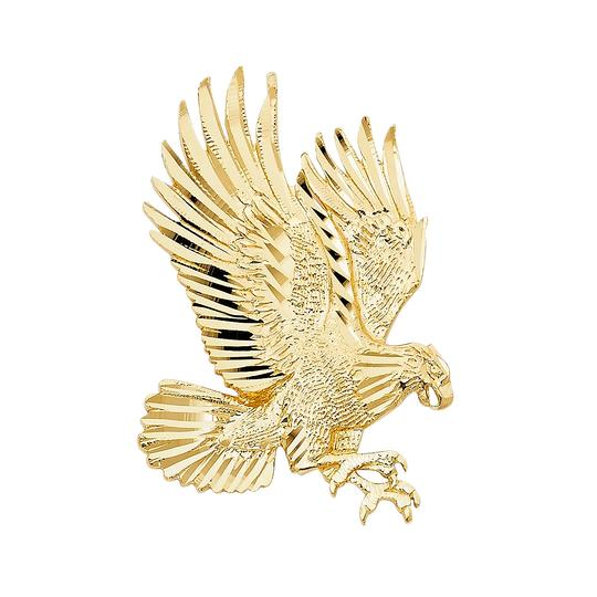 Preload https://img-static.tradesy.com/item/23813908/yellow-gold-14k-eagle-pendant-charm-0-0-540-540.jpg