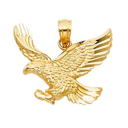 Preload https://img-static.tradesy.com/item/23813935/yellow-gold-14k-eagle-pendant-charm-0-0-540-540.jpg