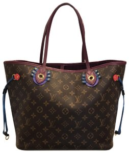 Louis Vuitton Limited Edition Neverfull Neverfull Tote in Brown Monogram