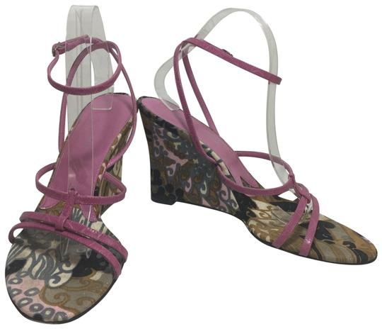 Preload https://img-static.tradesy.com/item/23814062/dolce-and-gabbana-pink-dolce-and-gabbana-floral-strappy-sandals-wedges-size-us-10-regular-m-b-0-1-540-540.jpg