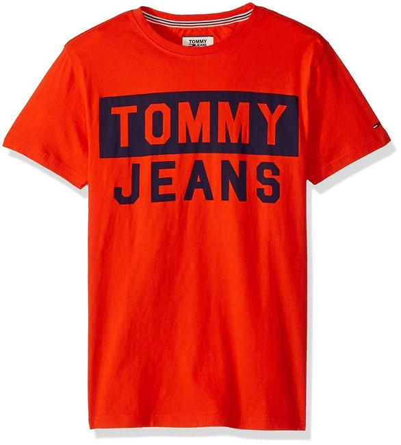 Tommy Hilfiger Spell It Out T Shirt Image 1