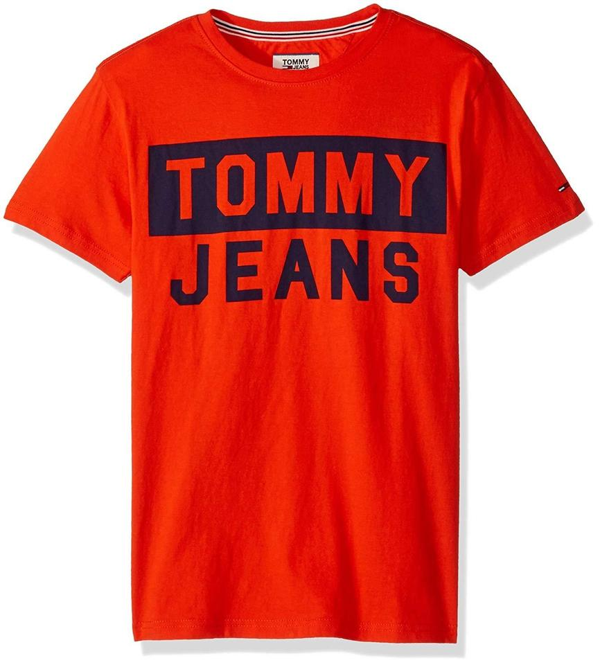 7f8718c2e Tommy Hilfiger Jeans Tee Shirt Size 8 (M) - Tradesy