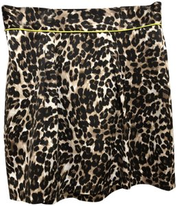 Naven Neon Animal Mini Skirt Leopard