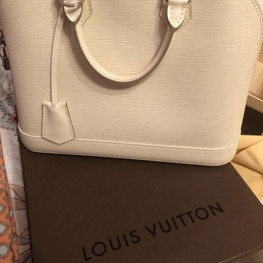 Louis Vuitton Satchel in Ivory/White Image 1