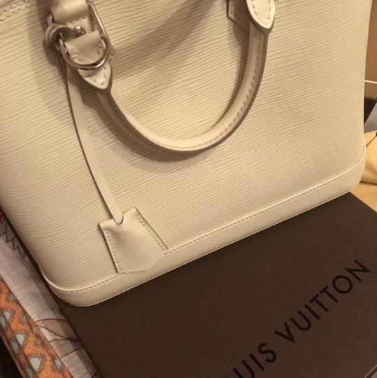 Louis Vuitton Satchel in Ivory/White Image 2