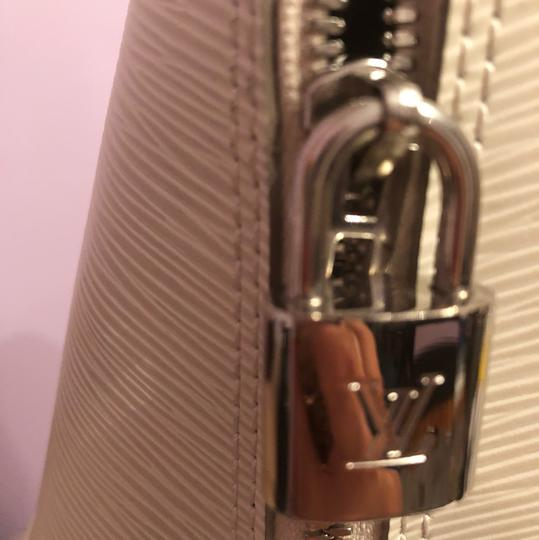 Louis Vuitton Satchel in Ivory/White Image 5