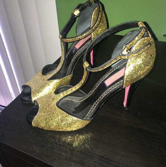 Betsey Johnson gold and black Formal Image 1