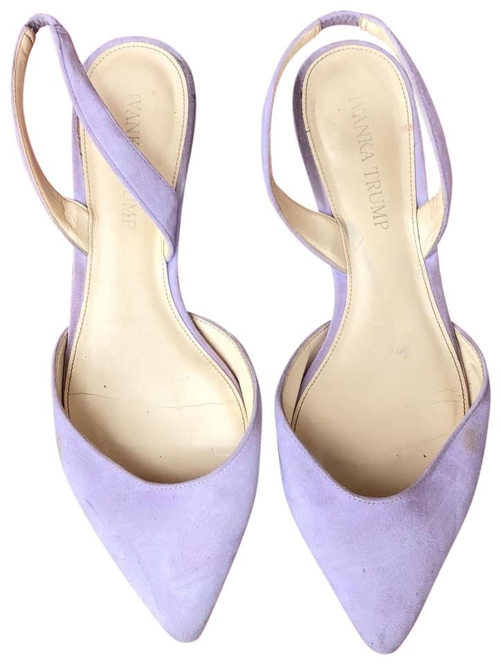 info for ea78b dcc19 Ivanka Trump Purple Sandals Image 0 ...