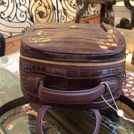 Tory Burch Croc Rare Backpack Image 5