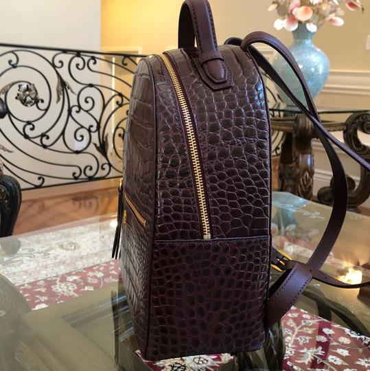 Tory Burch Croc Rare Backpack Image 7