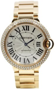 Cartier BALLON BLEU DE CARTIER WATCH 36 MM, 18K PINK GOLD, DIAMONDS