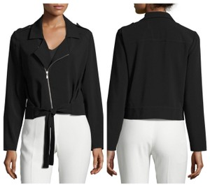 Laundry by Shelli Segal Crepe Black Blazer