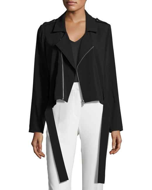Laundry by Shelli Segal Crepe Black Blazer Image 2