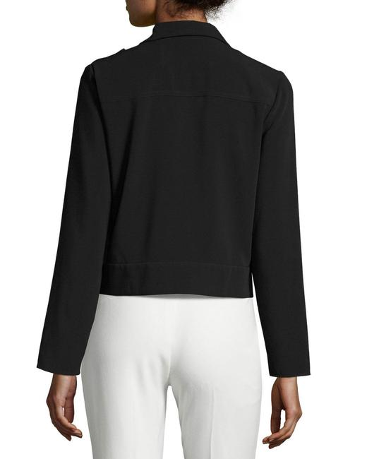 Laundry by Shelli Segal Crepe Black Blazer Image 3