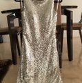 Silver Formal Bridesmaid/Mob Dress Size 2 (XS) Image 1