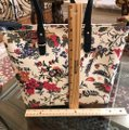 Tory Burch Small Zip Summer Tote in New Ivory Gabriela Floral Image 2