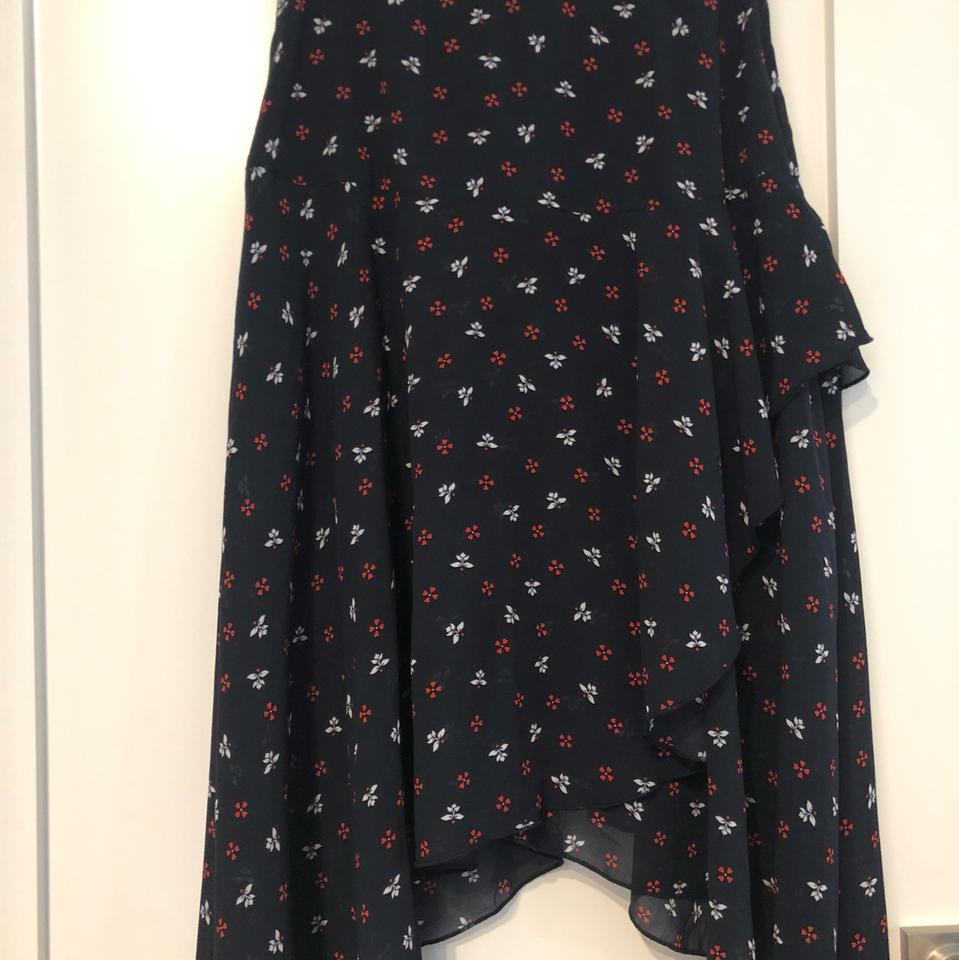 7304bfb3a23 H&M Floral Tier Skirt Size 6 (S, 28) - Tradesy