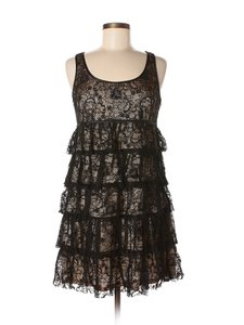 Spense Lace Ruffle Layered Dress