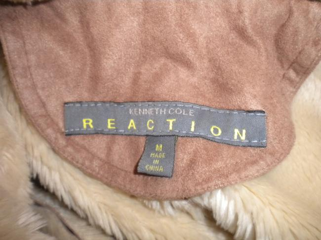 Kenneth Cole Reaction Faux Suede Lined Double Breasted Winter Pea Coat Image 5