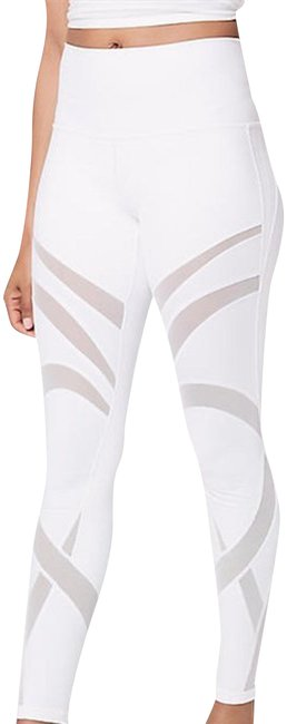 Lululemon NEW!!! WUNDER UNDER HR 7/8 TIGHT - MESH Image 0