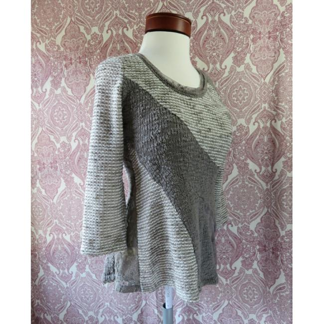 Preload https://img-static.tradesy.com/item/23814944/anthropologie-mushroom-taupe-and-gray-angel-of-the-north-leta-mixed-media-boucle-lace-sweaterpullove-0-1-650-650.jpg