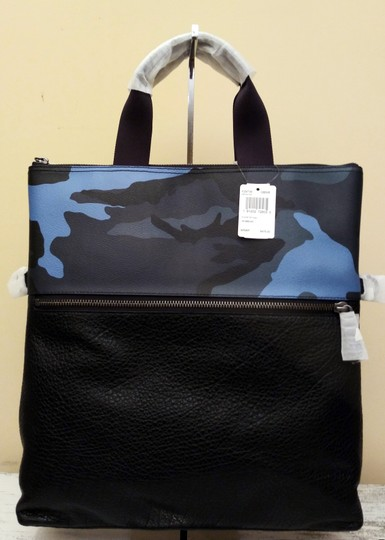Coach Tote in Blue Image 11
