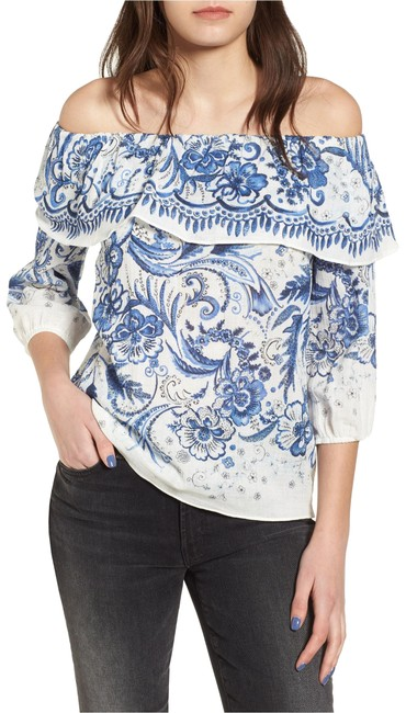 Preload https://img-static.tradesy.com/item/23815124/bailey-44-bluewhite-farmers-market-blouse-size-4-s-0-1-650-650.jpg