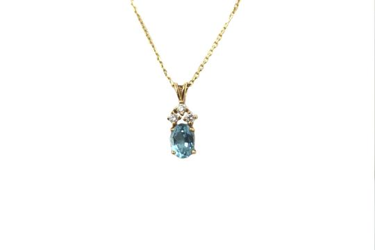 Other 14K Yellow Gold Diamond Necklace Image 1
