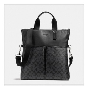 Coach New With Tags Tote in Charcoal / Black